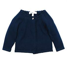 Bebe by Minihaha Grace Long Sleeve Pointelle Cardigan(9Months-24Months)