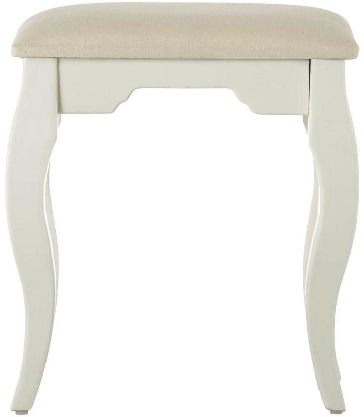 Home Decorators Collection Emilee's 17 in. W White Vanity Bench