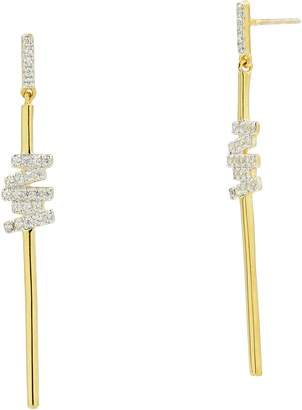 Freida Rothman Radiance Cubic Zirconia Drop Earrings