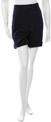 Yohji Yamamoto Knee-Length Wool Shorts w/ Tags $65 thestylecure.com