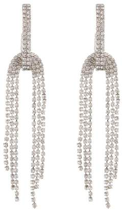 Free Press Draped Crystal Statement Earrings