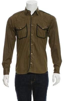 Dries Van Noten Coated Woven Shirt w/ Tags