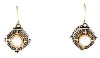 Konstantino Pearl Aphrodite Drop Earrings