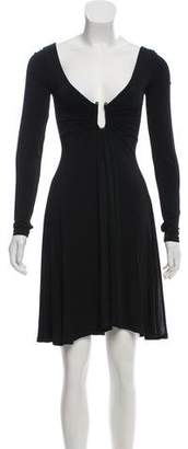 Just Cavalli Long Sleeve Mini Dress