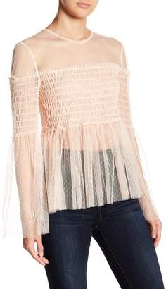 Romeo & Juliet Couture Lace Long Sleeve Top