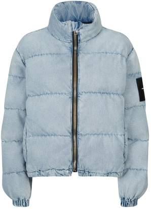 Alexander Wang Denim Puffer Jacket