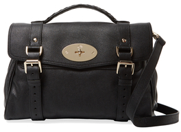 Alexa Medium Leather Satchel $1,650 thestylecure.com