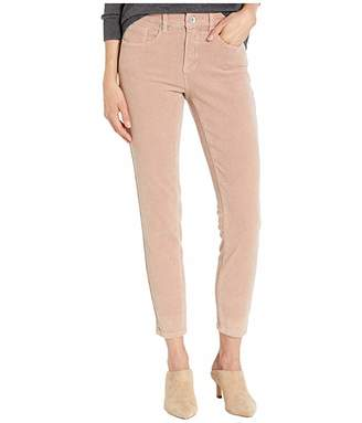 Tribal Five-Pocket Ankle Jeggings in Dusty Rose