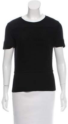 Brooks Brothers Wool Short Sleeve Top