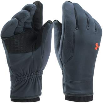 Under Armour Under Arour UAens Coldgear Eleents 3.0 Tech War Winter Fleece Gloves