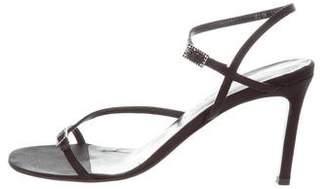Ralph Lauren Satin Buckle Sandals