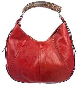 Saint Laurent Mombasa Leather Bag