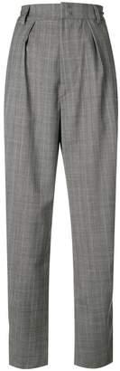 Etoile Isabel Marant Nimura check trousers