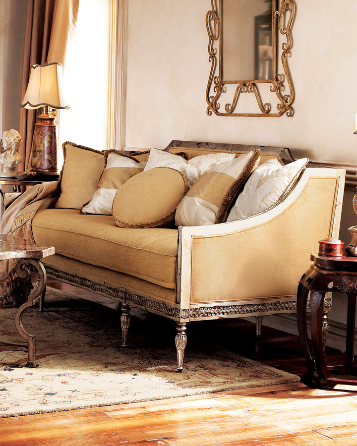 Vanguard Golden Settee