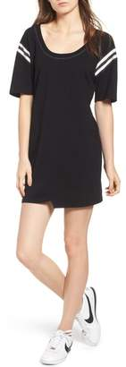 Pam & Gela Football Stripe Dress