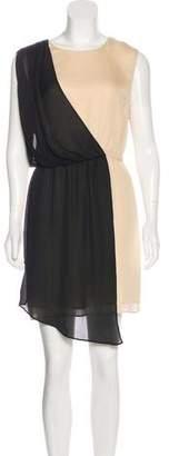 Elizabeth and James Sleeveless Silk Dress