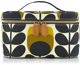 Orla Kiely Dandelion Tulip Train Case, Yellow