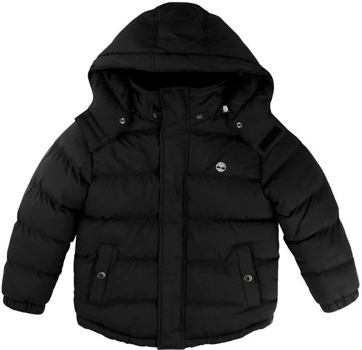 Boys Removable Hood Padded Jacket