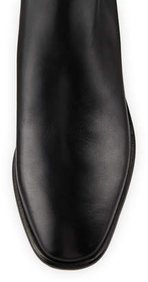 Donna Karan Lilit Leather Ankle Boots