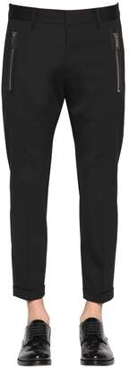DSQUARED2 16.5cm Admiral Fit Stretch Wool Pants