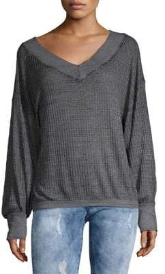 Free People South Side Thermal Pullover