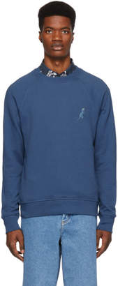 Paul Smith Blue Dino Sweatshirt