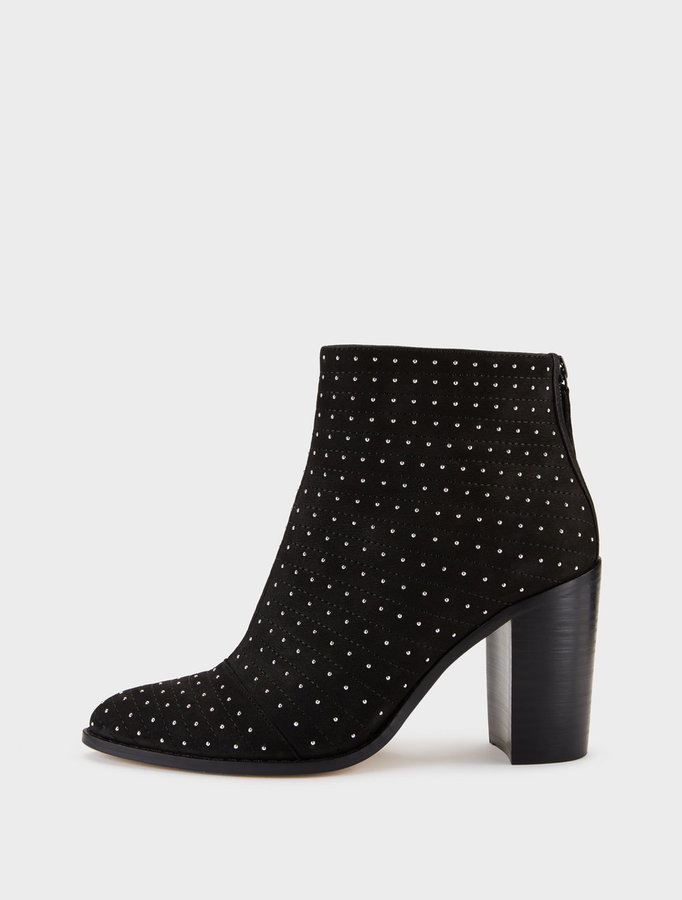 Herald Suede Studded Ankle Boot