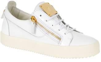Giuseppe Zanotti Low-Top Patent Panel Sneaker