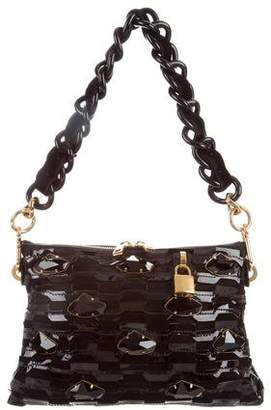 Marc Jacobs Embellished Suede Bag