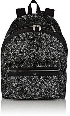 Saint Laurent Men's Glitter City Backpack