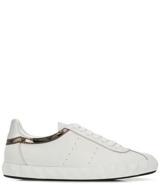 Emporio Armani metallic sneakers