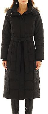 JCPenney a.n.a® Quilted Down Commuter Coat