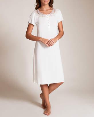 Paladini Argento Modal/Pizzo Lenticchia Gown
