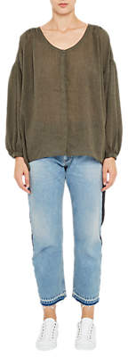 French Connection Betsy Draped Top, Dusty Olive