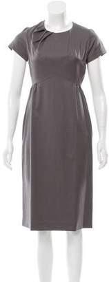 Kenzo Wool Midi Dress