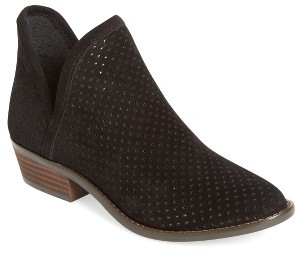 Women's Lucky Brand Kambry Perforated Bootie $138.95 thestylecure.com