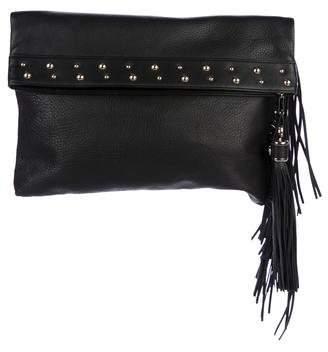 Helen Kaminski Leather Fold-Over Clutch