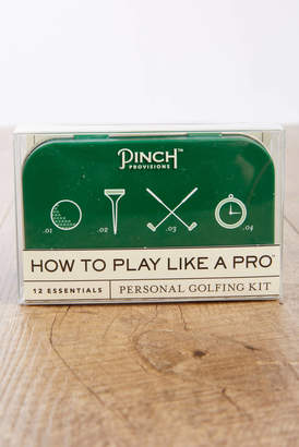 Pinch Provisions How To Play Like A Pro Personal Golfing Kit