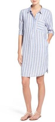 Women's Caslon Linen Shirtdress $69 thestylecure.com