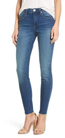 BLANKNYC The Bond Raw Hem Skinny Jeans