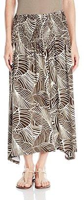 Jones New York Women's Smocked Maxi Skirt $69 thestylecure.com
