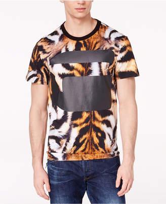 G Star Men's Mostom Tiger Logo-Print T-Shirt