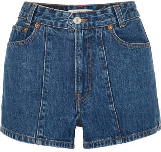 Solid & Striped Re/done The Venice Denim Shorts - Mid denim