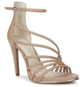 Kenneth Cole New York Barletta Leather Stiletto Sandals