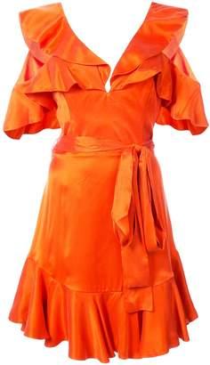Zimmermann Frill Trim Mini Dress