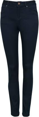 Wallis **TALL Navy Blue Skinny Fit Jegging