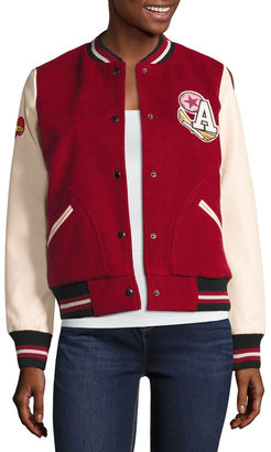 ARIZONA Arizona Varsity Letterman Jacket - Juniors $70 thestylecure.com