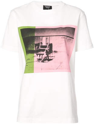 Calvin Klein x Andy Warhol Foundation Little Electric Chair T-shirt