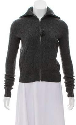 Ralph Lauren Wool & Cashmere Blend Zip-Up Sweater