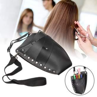 LuckyFine Scissor Pouch Holster with Belt for Hairdressers, Salon Hair Stylist Barber Scissors Shear Hairdressing Waist Holder Case Bag